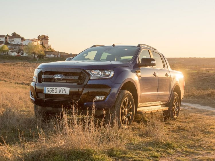 Ford Ranger Wildtrak Frontal 00023
