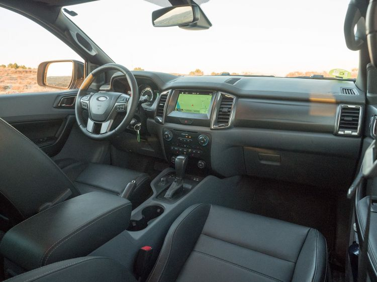 Ford Ranger Wildtrak Interior 00002