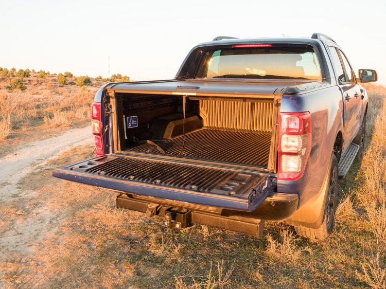 Ford Ranger Wildtrak Trasera 00003