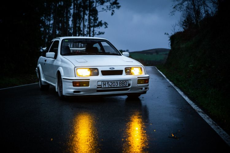 Ford Sierra Rs Cosworth Test 40