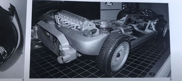 Ford T Drive P