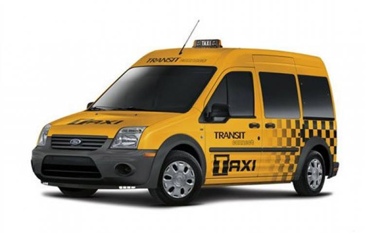 Ford Transit Connect NYC taxi