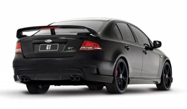 Ford FPV GT Black, 125 unidades de puro músculo australiano