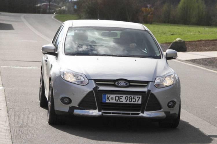 Ford Focus ST, fotos espía