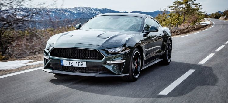 New Ford Mustang Bullitt for Europe Salutes Silver Screen Legend
