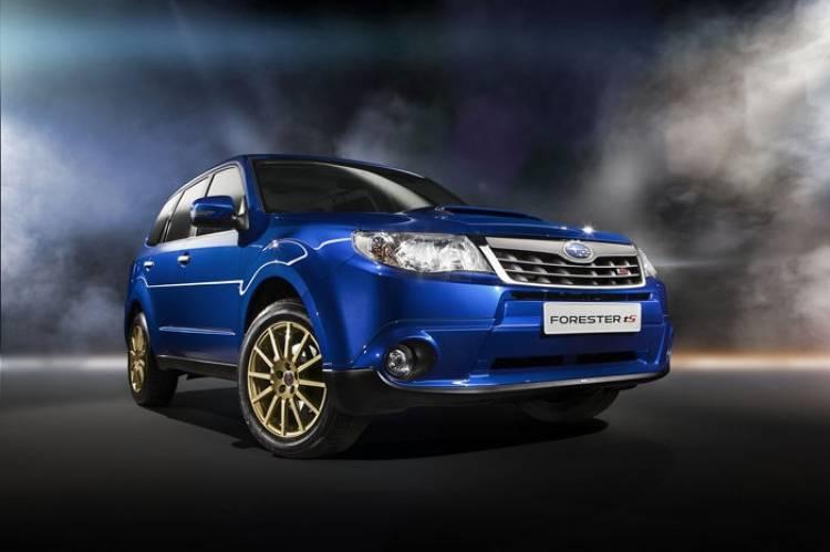 Subaru Forester Ts: el Forester STI llega al Salón de Moscú