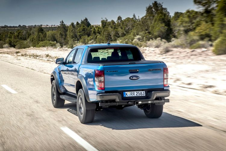 Fotos Ford Ranger Raptor Azul 13