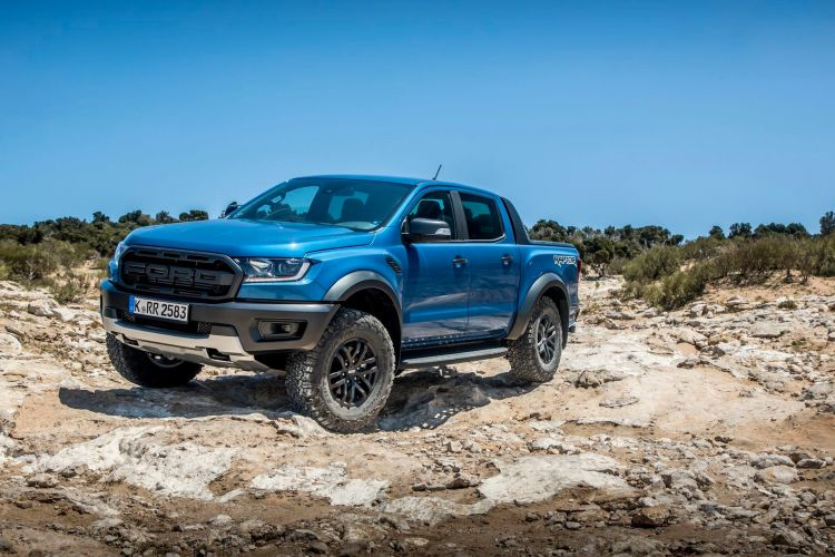 Fotos Ford Ranger Raptor Azul 41