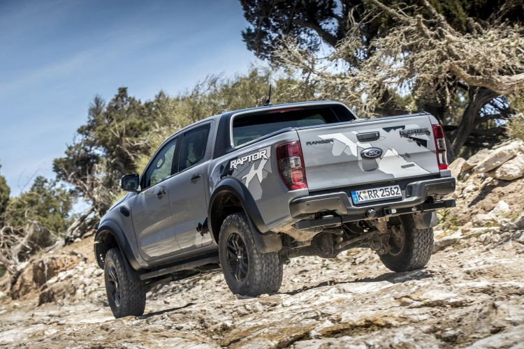 Fotos Ford Ranger Raptor Gris 45