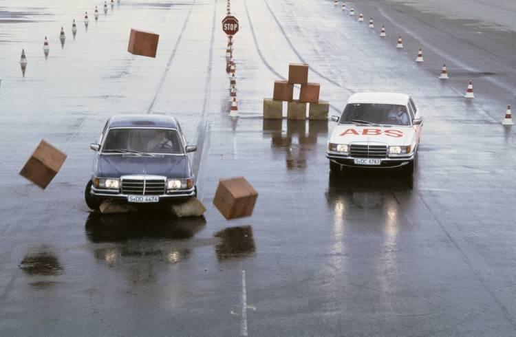 Weltpremiere 1978 In Der Mercedes Benz S Klasse: 40 Jahre Anti Blockier System
