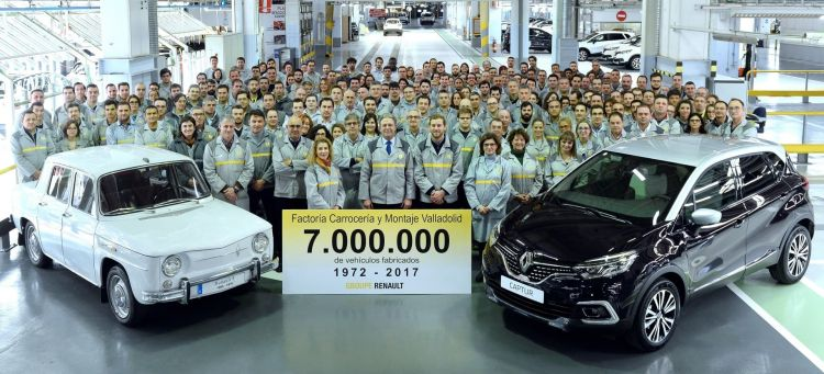 Futuro Fabricas Renault Valladolid Captur