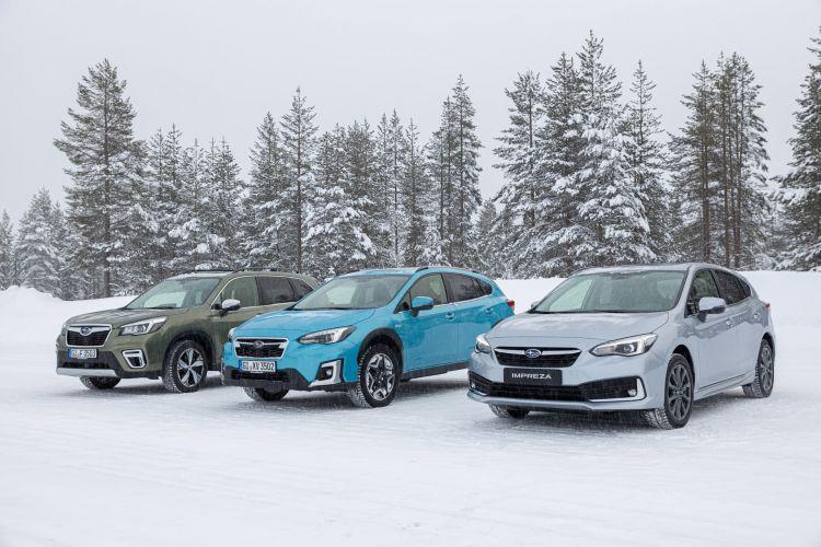 Gama Subaru Eco Hybrid