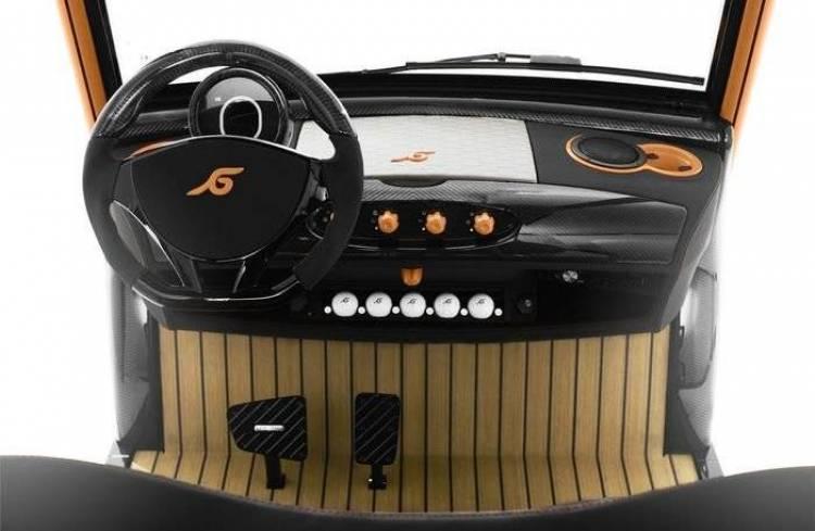 Garia Mansory Edition, ¿por qué no tunear un carrito de golf?