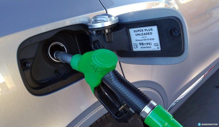 Gasolina Azul Etanol Repostaje Bentley 0421 02