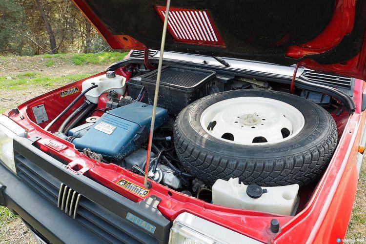 Motor Fiat Panda Antiguo