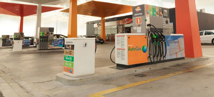 Gasolinera Diesel Gasolina Repsol