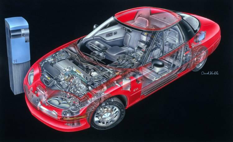 General Motors Ev1 05
