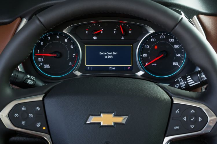 Chevrolet's Industry First Buckle To Drive Feature Is Availabl