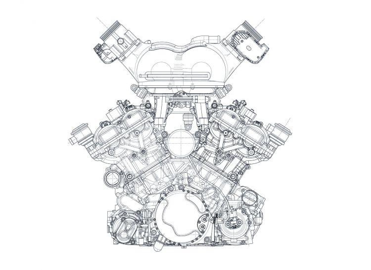 Gordon Murray T50 Cosworth Motor 01