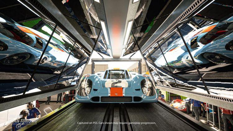 Gran Turismo 7 Playstation 5 Porsche 917 Gulf