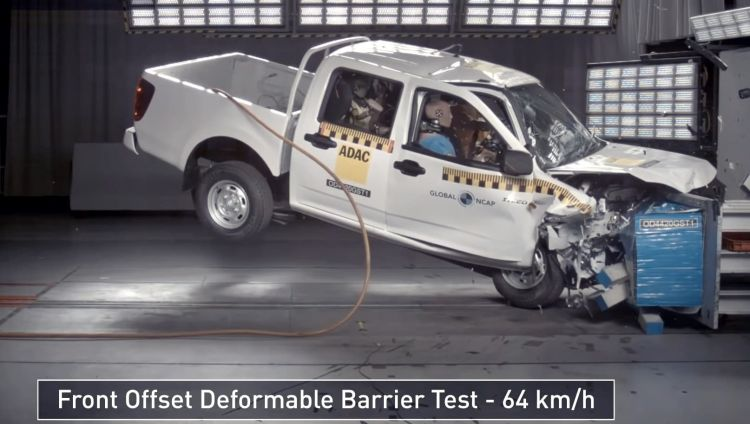 Great Wall Steed 5 Crash Test Globalncap 1220 01