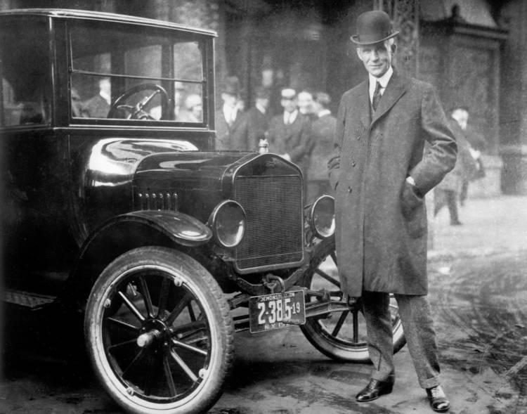 Henry Ford Model T 0918 01