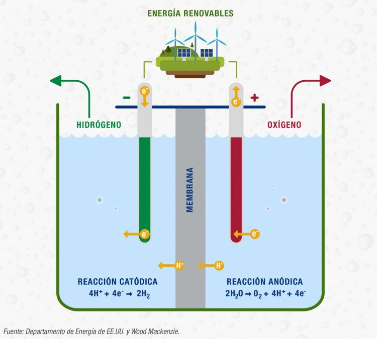 Hidrogeno Verde Iberdrola Infografia
