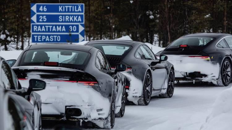 High Porsche 911 Testing Programme 2018 Porsche Ag 4