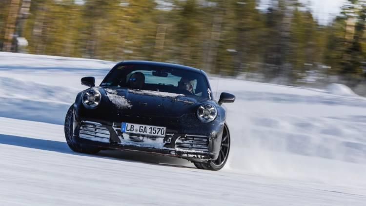 High Porsche 911 Testing Programme 2018 Porsche Ag 8 Nive