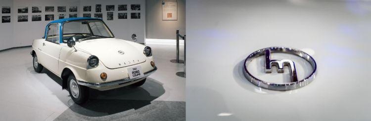 Historia Logo Mazda Hiroshima R360