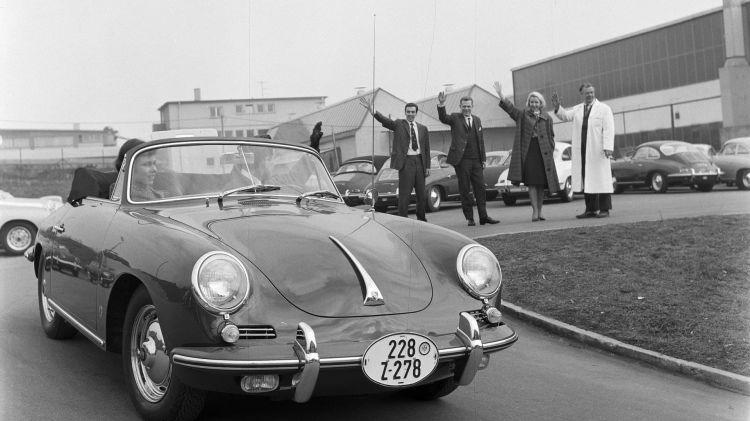 Historia Logo Porsche 356 B 1962