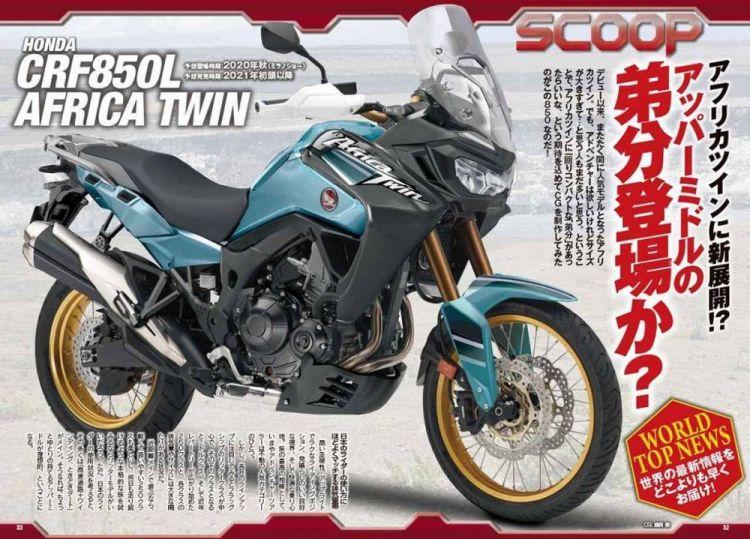 Honda Africa Twin Crf 850 L 2021