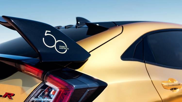 Honda Australia 50 Aniversario Dorado 6