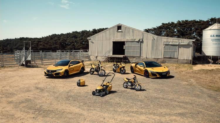 Honda Australia 50 Aniversario Dorado 9