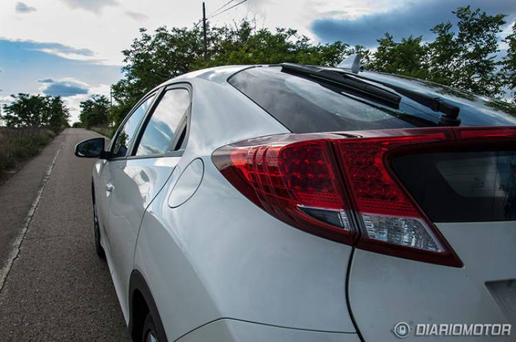 Prueba del Honda Civic 1.4 Sport