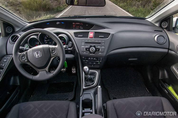 Prueba del Honda Civic