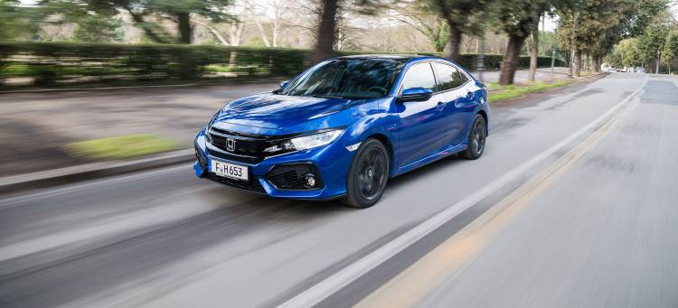 Honda Civic 2019 Diesel Azul Swindon 01
