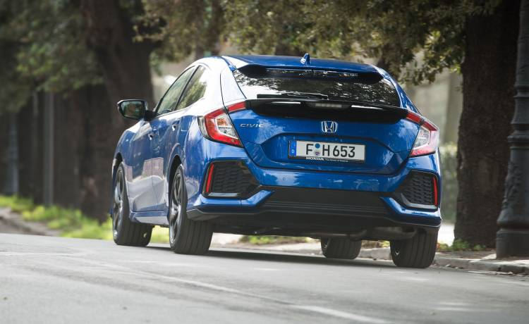 Honda Civic 2019 Diesel Azul Swindon 02