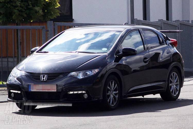 Honda Civic Type R espía
