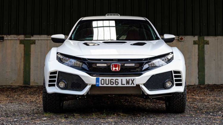 Honda Civic Type R Overland 0519 002
