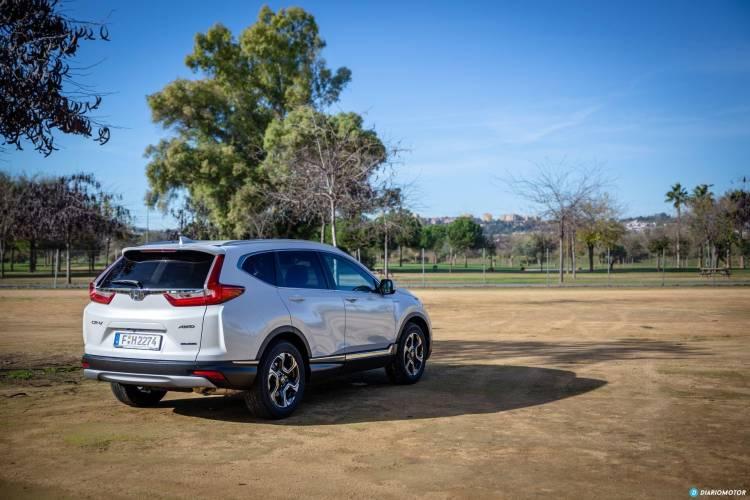 Honda Cr V Hybrid Prueba 7