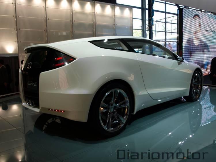 Honda CR-Z Concept en París 2008