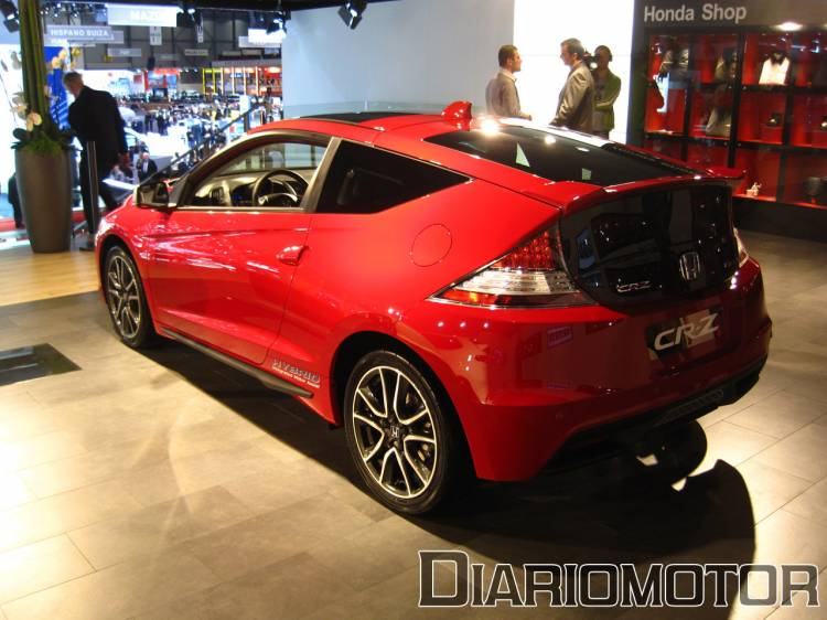 Honda CR-Z en el Salón de Ginebra