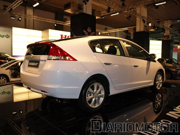 Honda Insight en el Salón de Barcelona