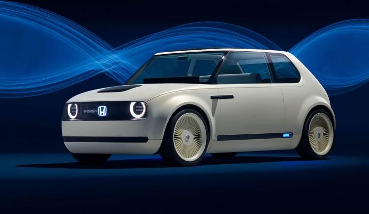 Honda Urban Ev Frontal Coche Electrico