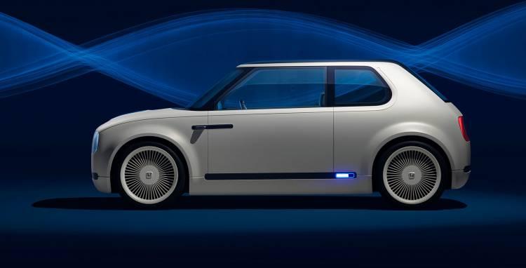Honda Urban Ev Lateral Coche Electrico