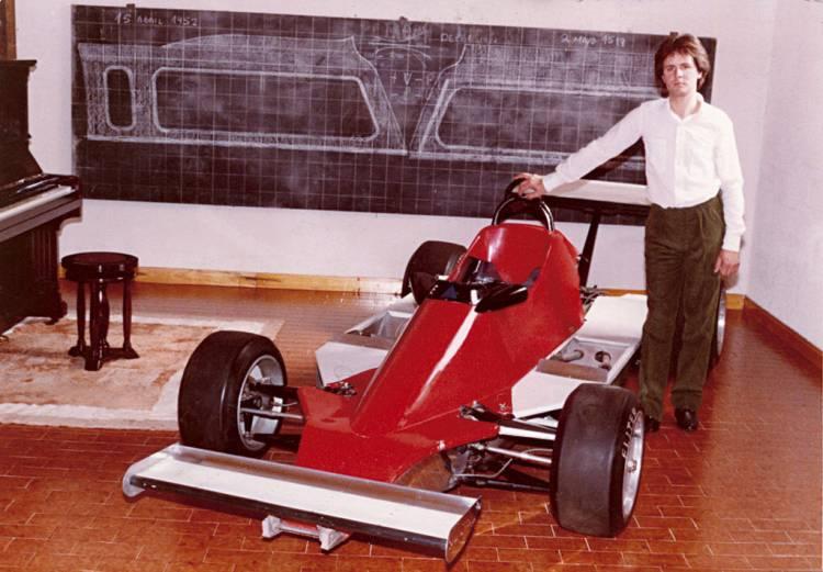 Horacio Pagani y el Fórmula 2 de Renault