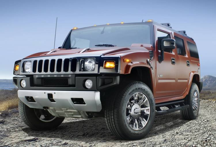 Hummer H2 Black Chrome Limited Edition