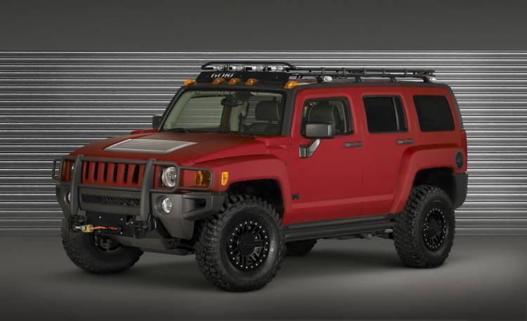 Hummer H3 Trailhugger Concept