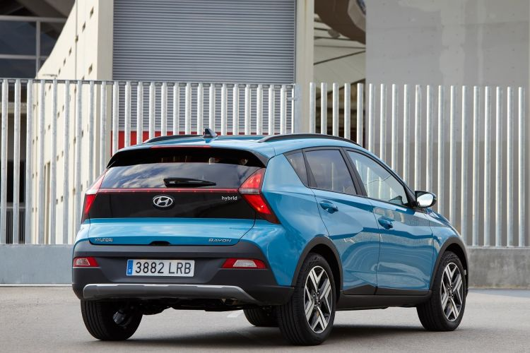 Hyundai Bayon 2021 Prueba 0621 081